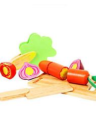 Недорогие -MWSJ Play Kitchen Овощи и фрукты Ножи для овощей и фруктов Веселье Классика Универсальные Игрушки Подарок