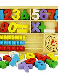 Недорогие -Конструкторы Игрушечные счеты Игрушки для обучения математике совместимый Legoing Экологичные Классика Мальчики Девочки Игрушки Подарок