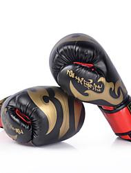 Недорогие -Боксерские перчатки Для Бокс Полный палец Защитный PU Черный