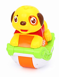 cheap -Dollhouse Accessory Educational Toy Model Building Kit Dog Animals Music Lovely Simulation Plastics For Baby