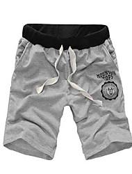 cheap -Men's Mid Rise Micro-elastic Loose Shorts Pants,Active Solid Summer