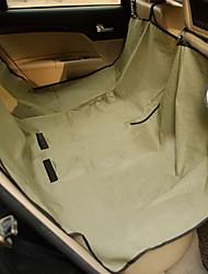 Недорогие -Собака Матрас Чехол для сидения автомобиля Одеяла Компактность Складной Однотонный Ткань Черный Красный Синий