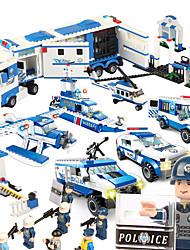 cheap -SHIBIAO Building Blocks Military Blocks Construction Set Toys 1040 pcs Military Warship Plane / Aircraft compatible Legoing DIY Unisex Boys' Girls' Toy Gift / Educational Toy