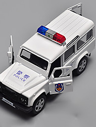 cheap -Toy Car Model Car Police car Boys' Girls' Toy Gift