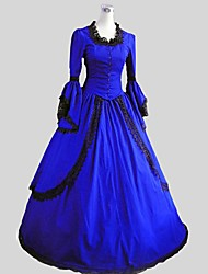 cheap -Rococo Victorian 18th Century Dress Cosplay Costume Party Costume Masquerade Women's Costume Vintage Cosplay Party Prom Sleeveless Ankle Length Ball Gown Plus Size Customized / Petticoat