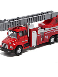 cheap -Toy Car Die-Cast Vehicle Pull Back Vehicle Fire Engine Vehicle Fire Engine Unisex Toy Gift