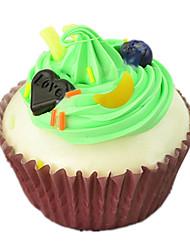 Недорогие -Игрушечная еда Мороженное Торты Кексы ПВХ ПУ (полиуретан) Универсальные Игрушки Подарок