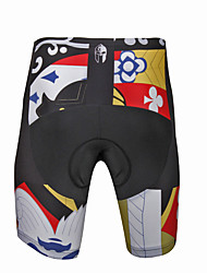 cheap -ILPALADINO Men's Cycling Padded Shorts Bike Shorts Pants Bottoms 3D Pad Quick Dry Anatomic Design Sports Lycra Road Bike Cycling Clothing Apparel Relaxed Fit Bike Wear / High Elasticity