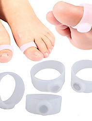 cheap -4PCS 2 Pair Magnetic Silicone Foot Massager Toe Rings Slimming Therapy Fast Burn Fat Lose Weight