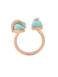cheap -Ring Green Alloy Fashion Cute Euramerican Adjustable / Women's