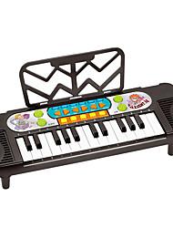 abordables -Accessoire de Maison de Poupées Clavier Electronique Piano Piano Amusement Plastique Enfant Garçon Jouet Cadeau