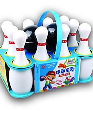 cheap -Balls Bowling Toy Racquet Sport Toy Bowling Game Portable Plastics for Boys'