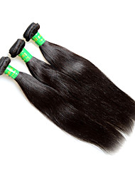 cheap -Remy Human Hair Remy Weaves Straight Indian Hair 300 g 1 Year