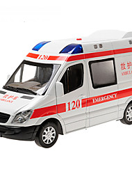 cheap -Toy Car Model Car Police car Ambulance Vehicle SUV Classic Simulation Music & Light Pull Back Vehicles Classic Boys' Toy Gift