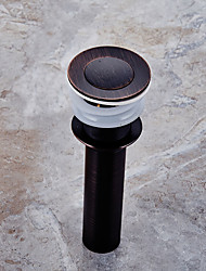 cheap -Faucet accessory - Superior Quality - Contemporary Brass Pop-up Water Drain With Overflow - Finish - Oil Rubbed Bronze