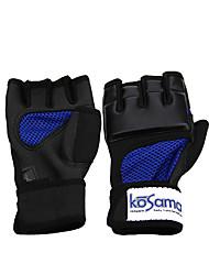 Недорогие -Боксерские перчатки Для Тхэквондо Бокс Без пальцев Защитный Черный