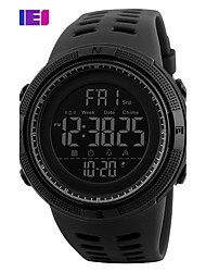 cheap -Men's Sport Watch Smartwatch Wrist Watch Digital Silicone Multi-Colored 30 m Water Resistant / Waterproof Calendar / date / day Chronograph Digital Charm Fashion Elegant Dress Watch Unique Creative -