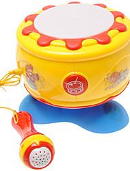 cheap -Drum Set Dollhouse Baby Music Toy Lighting Plastics Kid's Girls' Toy Gift