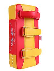 Недорогие -Боксерские перчатки Мишени для боевых искусств Назначение Тхэквондо Бокс Кикбоксинг Демпфирование Скорость Бокс ТПУ Этиленвинилацетат 1 pcs Черный Красный
