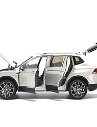 Недорогие -Игрушечные машинки Модель авто Мотоспорт Музыка и свет Металлический сплав Железо Мини-автомобиль Транспортные средства Игрушки для вечеринки или подарок на день рождения для детей