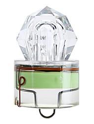Недорогие -1шт Освещение для рыбалки Светодиодная лампа Зеленый АБС-пластик подводный LED индикатор Рыбалка 200-500 m