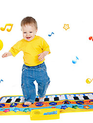 cheap -Musical Mat Multi Function Material Polycarbonate Unisex Boys' Girls' Toy Gift