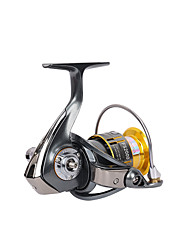 cheap -Fishing Reel Spinning Reel 5.2:1 Gear Ratio+10 Ball Bearings Hand Orientation Exchangable Sea Fishing / Spinning / Jigging Fishing - FS2000 / Freshwater Fishing / Bass Fishing / Lure Fishing