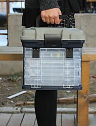Недорогие -Коробка для рыболовной снасти Платформа для рыбалки 4 Поддоны Оценка А системы ABS 27 cm*18 дюймовый*17 cm