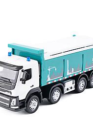 cheap -Metalic Dump Truck Toy Truck Construction Vehicle Toy Car Kid's Car Toys / Music & Light