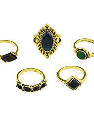 cheap -Ring Gold Alloy Unusual Unique Design Basic 7 / Women's