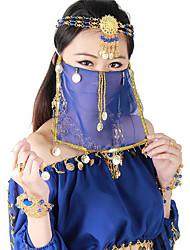 cheap -Belly Dance Veil Women's Performance Polyester Sequin Veil