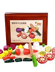 cheap -Display Model Pretend Play Vegetables Magnetic Convenient Grip Kid's / Wood