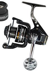 cheap -Fishing Reel Spinning Reel 5.5:1 Gear Ratio+13 Ball Bearings Hand Orientation Exchangable Sea Fishing / Bait Casting / Spinning - HY3000/5000/7000 / Jigging Fishing / Freshwater Fishing