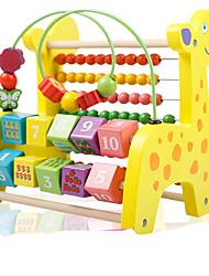 Недорогие -Конструкторы Игрушечные счеты Игрушки для обучения математике Олень Экологичные Классика Игрушки Подарок