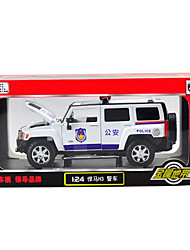 cheap -Toy Car Die-Cast Vehicle Motorcycle Police car Horse Unisex Toy Gift