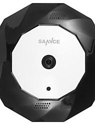 Недорогие -sannce® 360 wirless панорамный 960p fisheye ip camera wifi 1.3mp видео ночного видения встроенный микрофон и динамик