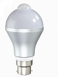 cheap -1pc 5 W LED Smart Bulbs 480 lm B22 E26 / E27 A60(A19) 10 LED Beads SMD 5730 Infrared Sensor Light Control Warm White Cold White 85-265 V / 1 pc / RoHS