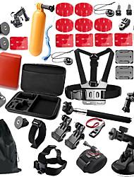 Недорогие -Для Экшн камера Gopro 6 Все Gopro 5 Xiaomi Camera Gopro 4 Black Спорт DV SJCAM SJ4000 SJ5000 Катание на лыжах Пешеходный туризм
