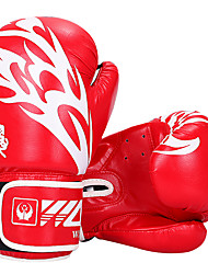 cheap -Boxing Bag Gloves Pro Boxing Gloves Boxing Training Gloves For Boxing Full Finger Gloves Lightweight Warm Padded Faux Leather Black Red