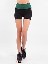 abordables -Shorts de Course Running Des sports Yoga Course / Running Exercice & Fitness Mode Noir / Elastique
