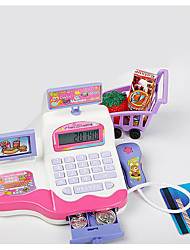 Недорогие -Бакалея Торговый Игры с деньгами Игрушка наличных денег Веселье Пластик Детские Игрушки Подарок