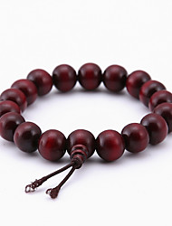cheap -Women's Bead Bracelet Cheap Ladies Natural Fashion Wooden Bracelet Jewelry Brown For Special Occasion Gift