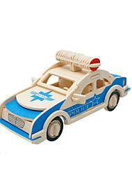 cheap -3D Puzzle Model Building Kit Wooden Model Car Wooden Kid's Toy Gift