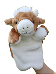 cheap -Finger Puppets Puppets Hand Puppets Cow Cute Animals Lovely Tactel Plush Imaginative Play, Stocking, Great Birthday Gifts Party Favor Supplies Kid's
