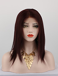cheap -Remy Human Hair Full Lace Wig style Brazilian Hair Straight Wig 130% Density with Baby Hair Natural Hairline African American Wig 100% Hand Tied Women's Short Medium Length Long Human Hair Lace Wig