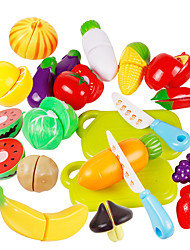 cheap -Toy Kitchen Set Toy Food / Play Food Pretend Play Vegetables Fruit Fruits & Vegetables ABS Kid's Toy Gift