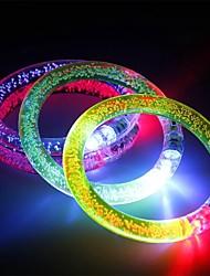 Недорогие -3pcs осветить браслет вспышки светодиодный свет излучающий электронный браслет светящийся светящийся браслет для рождественской бары