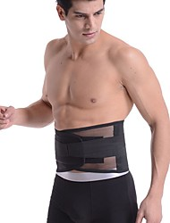 cheap -Back Support / Lumbar Support Belt for Running Outdoor Safety Gear 1pc Sport Black