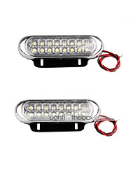 cheap -SUV / ATV / Tractor Light Bulbs 10W SMD LED 500lm LED Daytime Running Light For universal All Models All years