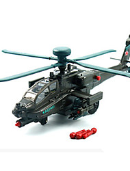 cheap -KDW Model Building Kit Pull Back Vehicle Helicopter Plane / Aircraft Car Helicopter Unisex Toy Gift